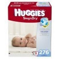 Save $1.50 off ONE (1) package of HUGGIES Diapers (42ct or larger)