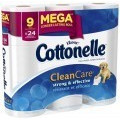 Save 65¢ off ONE (1) Cottonelle® Toilet Paper (6-pack or larger) (offer values may vary)