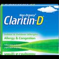 Save $5.00 on Claritin-D®