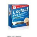 SAVE $1.00 on any LACTAID® Fast Act Dietary Supplements (32 ct or larger)