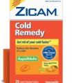 Save $2.00 on one (1) Zicam product (excludes 5ct & 12ct Rapidmelts)