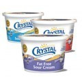 Save 30¢ off Crystal Creamery Sour Cream