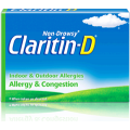 Save $2.00 off any Non-Drowsy Claritin-D® Allergy Product (15 count or larger)