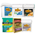 Save $5.00 off ONE (1) Absorbine Supplements (Bute-Less 160-day bucket; Bute-Less Performance 30-day bucket; Hooflex Concentrated Hoof Builder 90-day bag; Flex+Max 60-day bucket; Maximize 60-day bucket; Any The Missing Link 50- or 60-day bag)