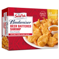 Save 75¢ off ONE (1) one SeaPak® Budweiser® Beer Battered product 8oz or larger