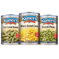 Save $0.75 off 3 cans of Kuner's Vegetables