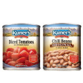 Save $1.00 off 2 cans of Kuner's Beans or Tomatoes, 28oz or larger